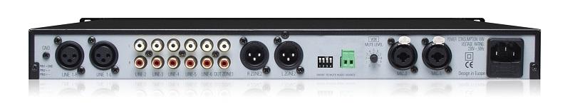 APART Audio PM7400MKII Stereo voorversterker/mixer