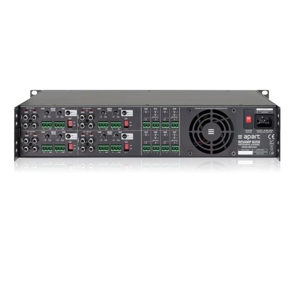 APART Audio REVAMP8250 8-kanaals versterker 8x250W/4 Ohm