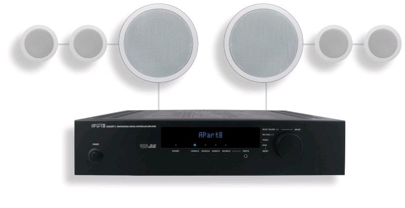 APART Audio SHOPSETi (complete set)