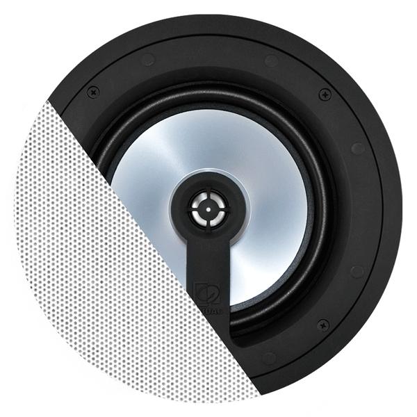 AUDAC High End 2-weg plafond inbouw speaker 8 inch Wit