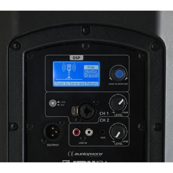 AUDIOPHONY ATOM 12A 12S 400W RMS 2-weg actieve speaker +DSP