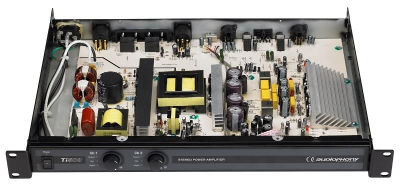 AUDIOPHONY Gamme Ti500 2x 250W 4Ohm
