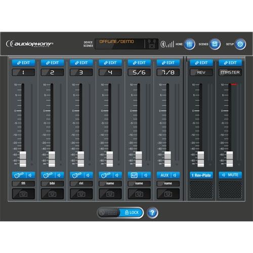 AUDIOPHONY MOJO1042APP Actief 2.1 Portable Systeem 1020W