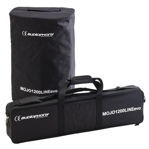 AUDIOPHONY MOJO1200LINEevo Actief Subwoofer en Kolom 1200W