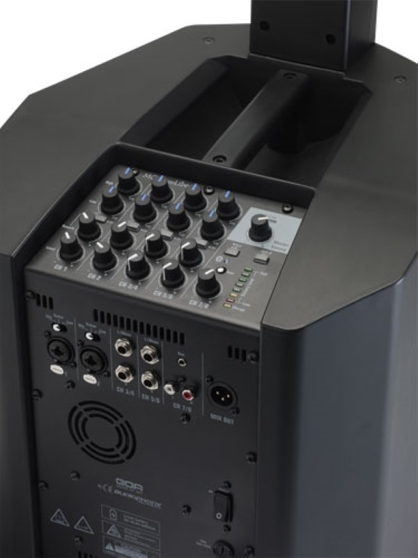 AUDIOPHONY MOJO500Liberty compleet actief accu systeem