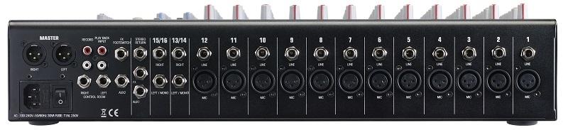 AUDIOPHONY MPX16 - 16 kanaals mengpaneel