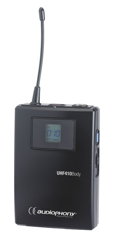 AUDIOPHONY UHF410 Add on Beltpackzender