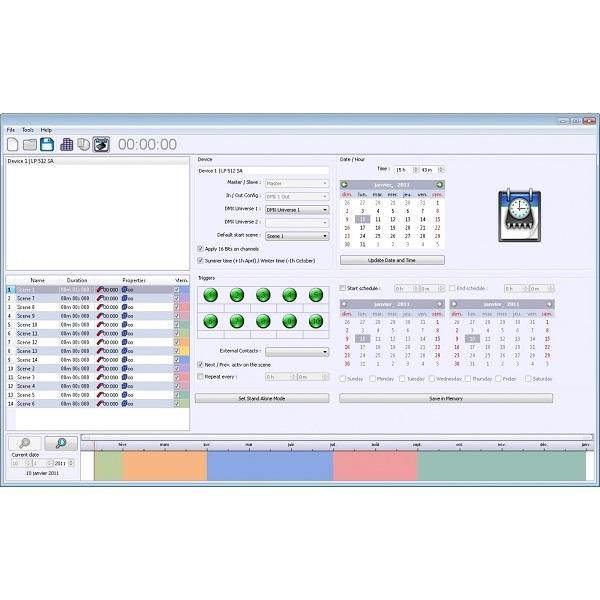 BRITEQ LD-1024EASY+ DMX Interface & Multizone Controller