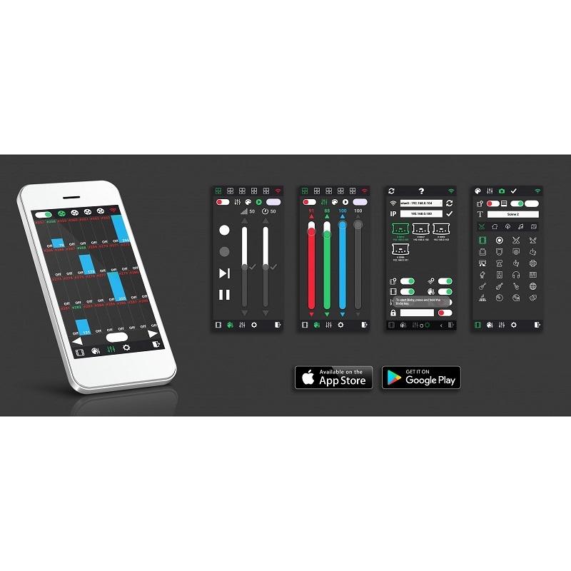 BRITEQ LD-1024EASY NET DMX Interface & Multizone Controller