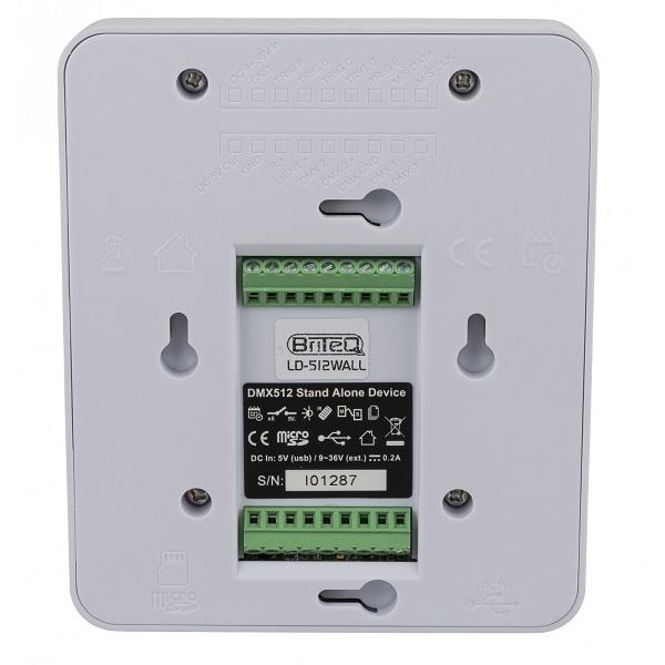 BRITEQ LD-512WALL+ 512-kanaals DMX-interface