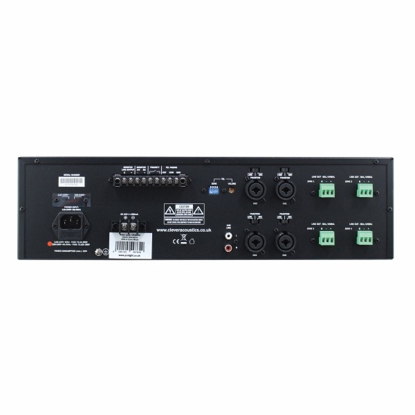 CLEVER Acoustics Acoutics ZM4 4 Zone mixer