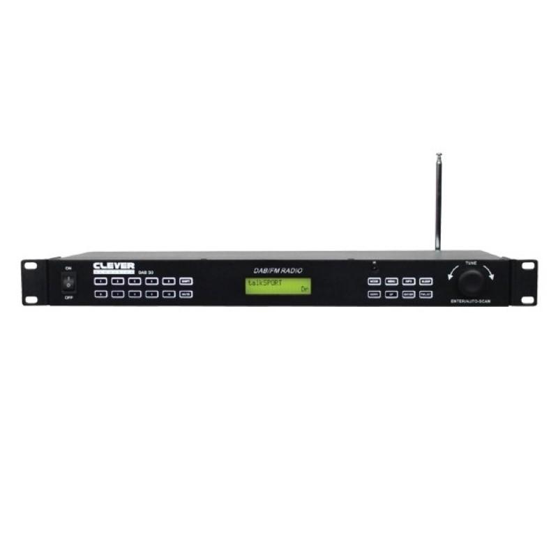 CLEVER Acoustics DAB 50 1HE DAB/FM Radio Tuner