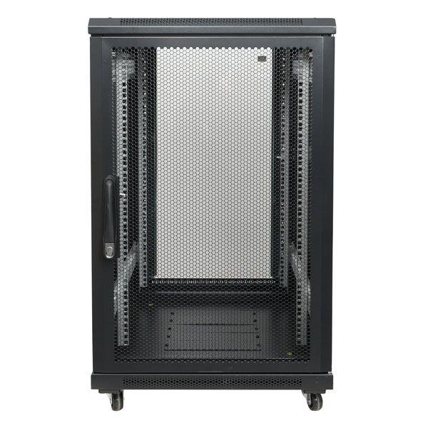 DAP 19 inch Server rack met glazen deur