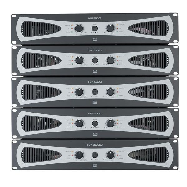 DAP D4175 HP-500 AB-klasse PA-versterkers 2 x 200W @ 4 Ohm