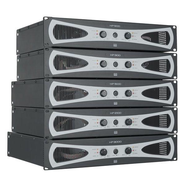 DAP D4177 HP-1500 H-klasse PA-versterkers 2 x 750W @ 4 Ohm