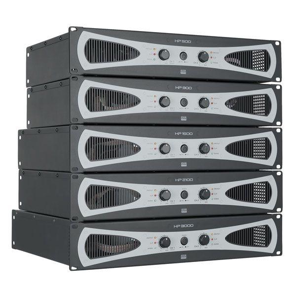 DAP D4178 HP-2100 H-klasse PA-versterkers 2 x 1000W @ 4 Ohm
