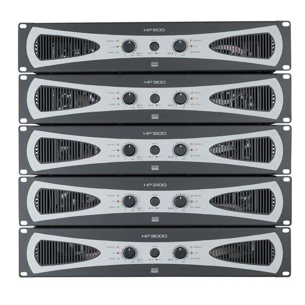 DAP D4179 HP-3000 H-klasse PA-versterkers 2 x 1400W @ 4 Ohm