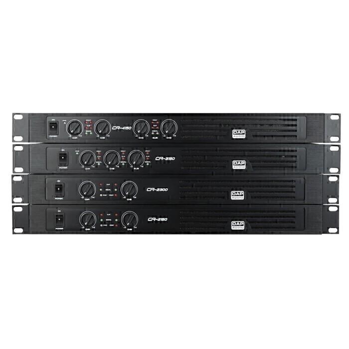 DAP D4510 CA-1150 Compacte 2-kanaals versterker