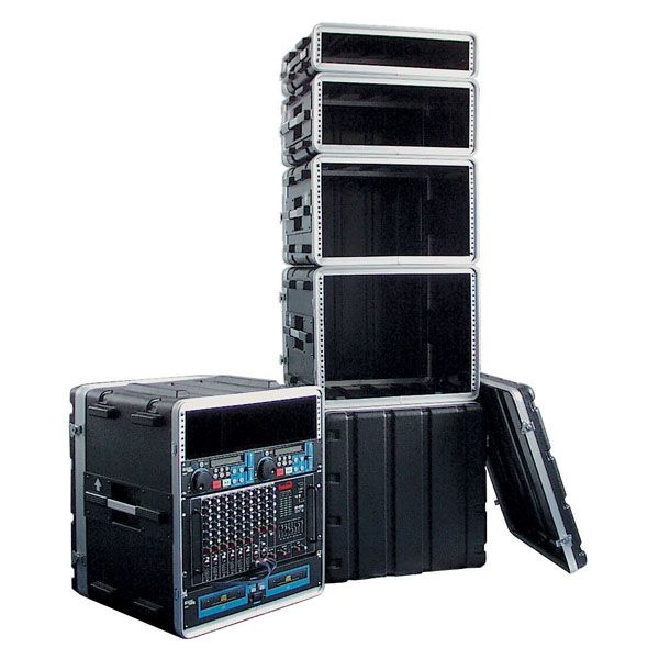 DAP D7102 4HE 19 inch ABS Rack Case Double Door