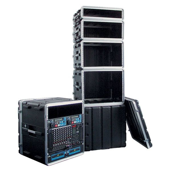 DAP D7103 6HE 19 inch ABS Rack Case Double Door