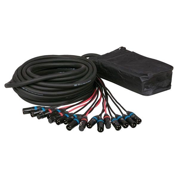 DAP D961715 CobraX stage snake 12/4 - multikabel 15m