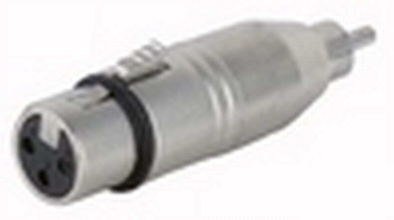 DAP FLA31 verloopstekker XLR F. 3p. / Tulp M.