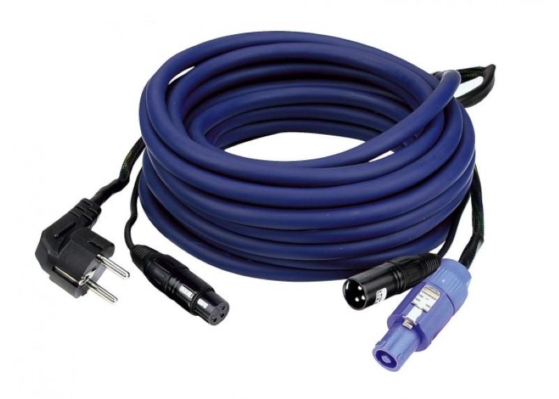 DAP FP 10 Multikabel Schucko+XLR F - Powercon M+XLR M