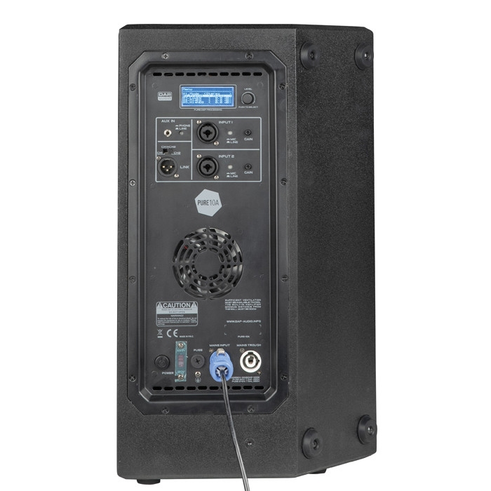 DAP Pure 10A 10 inch Active full range speaker