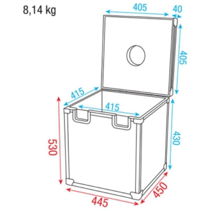 DAP Spiegelbolcase 40 cm
