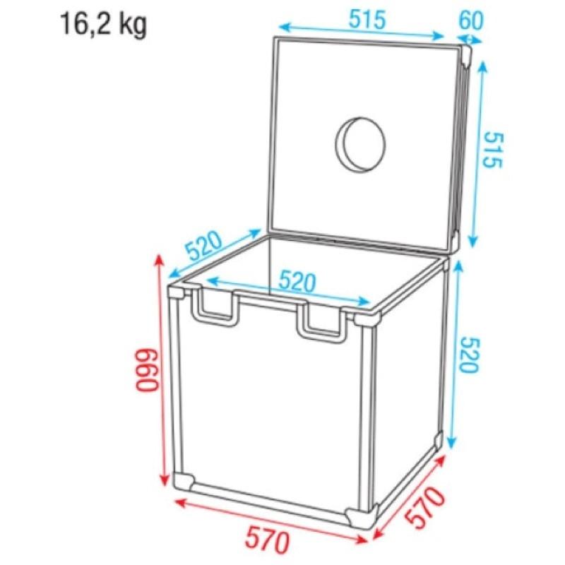 DAP Spiegelbolcase 50 cm