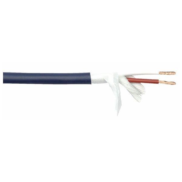 DAP SPK215 soepele blauwe speakerkabel 2x 1,5mm2 per meter