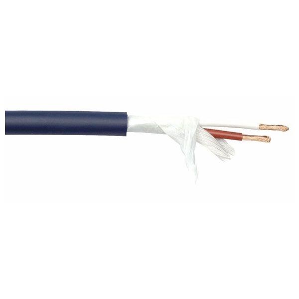 DAP SPK225 soepele blauwe speakerkabel 2x 2,5mm2 per rol