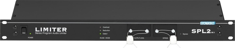 DATEQ SPL2 Limiter Microcontroller gestuurd