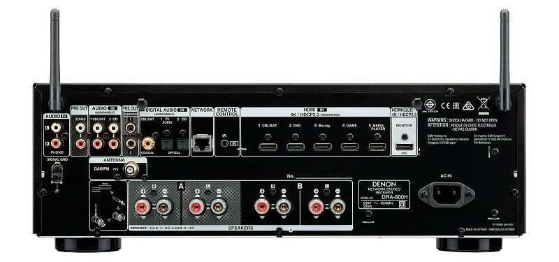 DENON DRA-800H 2-kanaals Stereoreceiver
