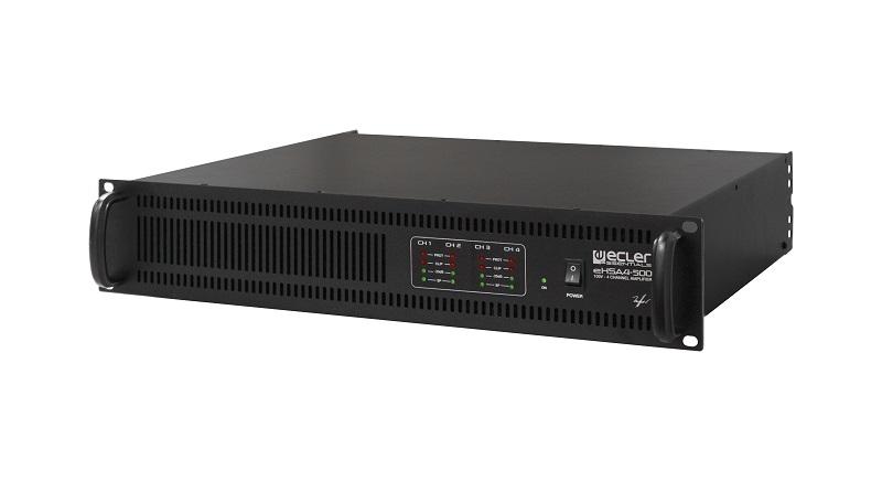 ECLER eHSA4-500 Eindversterker 4 x 500W 100V