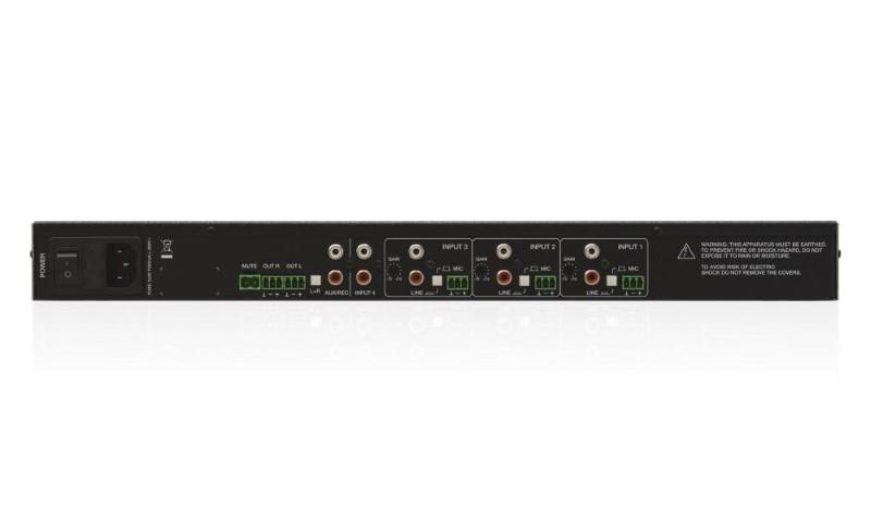 ECLER eSAM402 compacte audiomixer