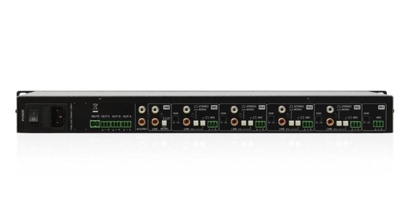 ECLER eSAM603 compacte audiomixer