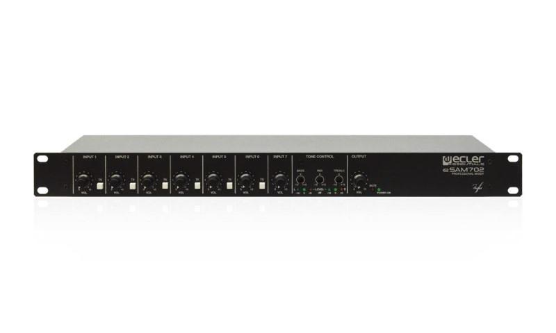 ECLER eSAM702 compacte audiomixer