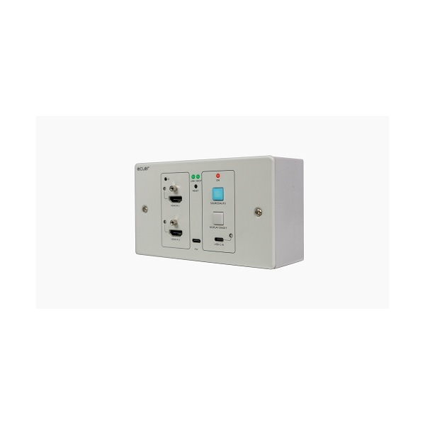 ECLER VEO-XWT44 4K HDMI/USB-C Switcher/Transmitter HDBaseT