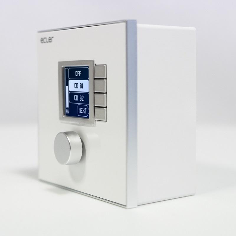 ECLER WPNET4KV Digitale wandregelaar volume en bronkeuze