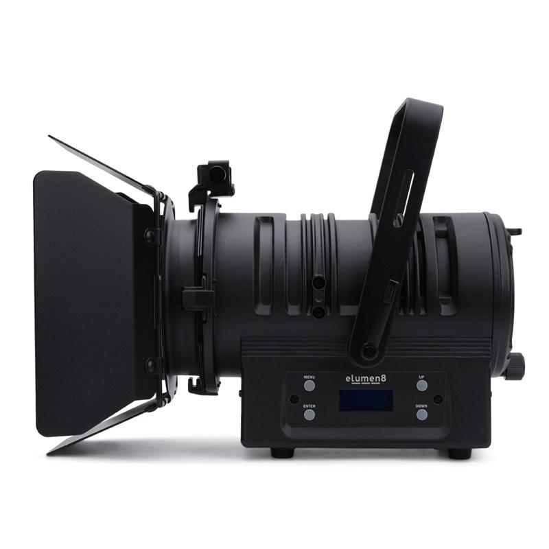 ELUMEN8 MP60 LED 60W MKII Fresnel spot - zwart WW 5p DMX