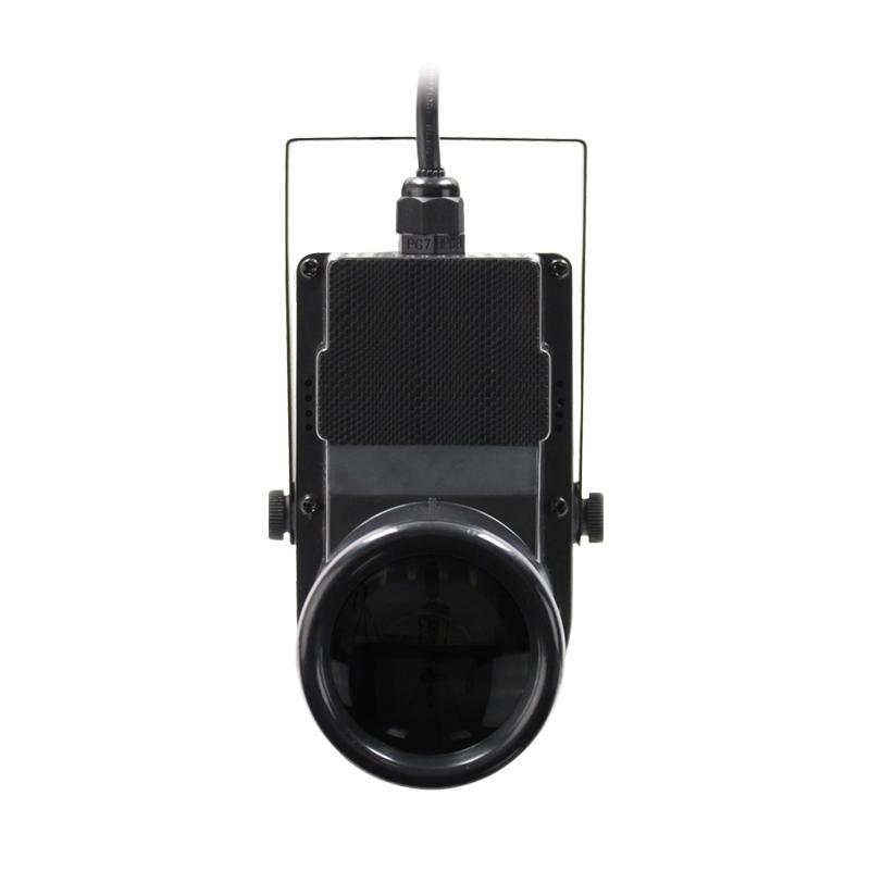EQUINOX 12W Quad colour Pinspot zwart