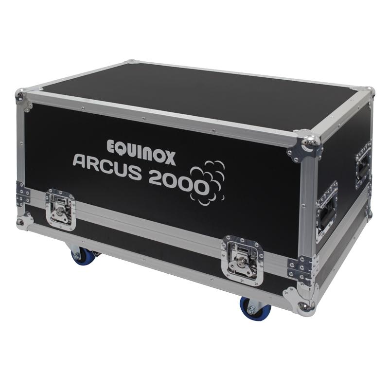 EQUINOX Arcus 2000 - Low Fogger inclusief Flightcase