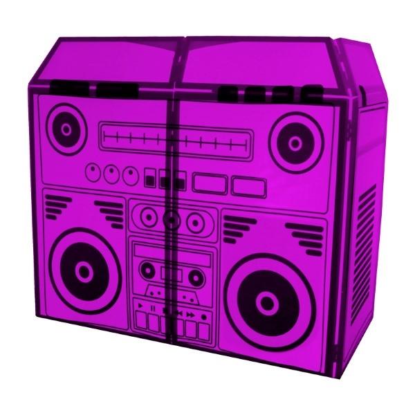 EQUINOX DJ booth system MKII BoomBox Design Lycra