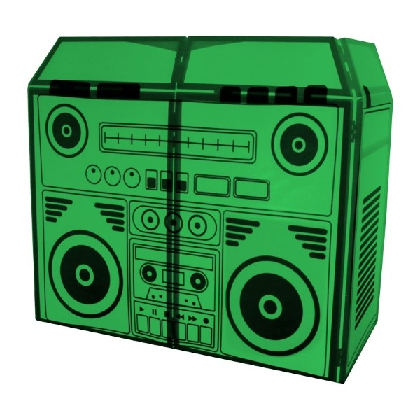 EQUINOX DJ booth system MKII BoomBox Design Lycra
