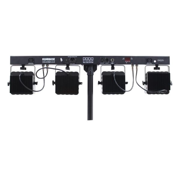 EQUINOX Dubbel Gigabar MKII COB Bar System + LEDJ EasiLED