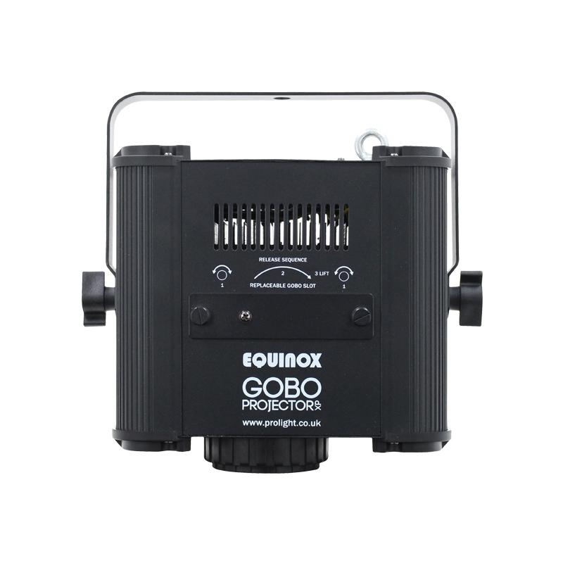 EQUINOX EQLED084 Gobo prjector met 80W cw LED