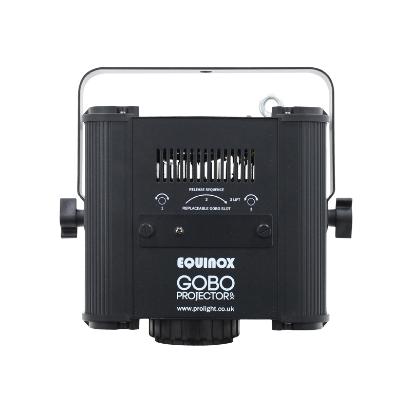 EQUINOX EQLED084 Gobo prjector met 80W cw LED