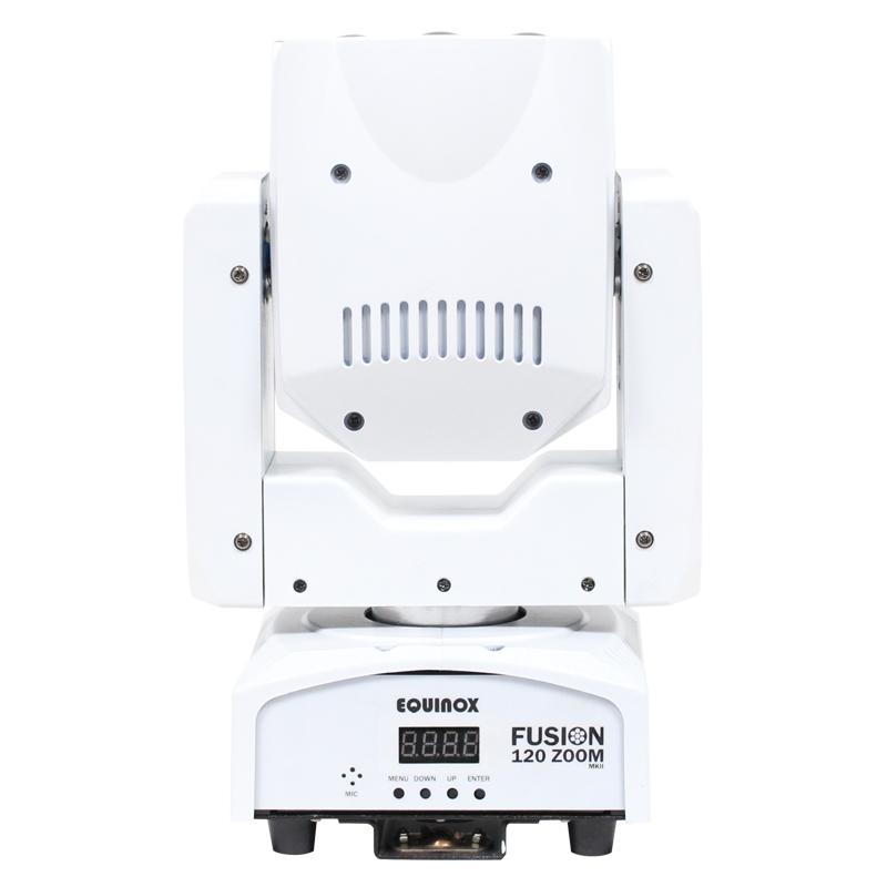 EQUINOX Fusion 120 Zoom 7x 12W RGBW wash movinghead - wit