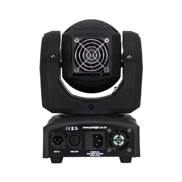 EQUINOX Fusion Spot XP 50W Beam moving head Black